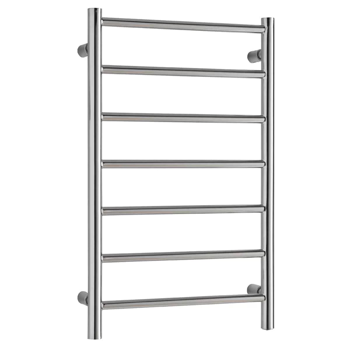 ALPINE Modern Heated Towel Rail / Warmer, Chrome