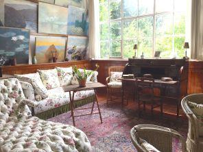 Monet's studio overlooks his gardens.