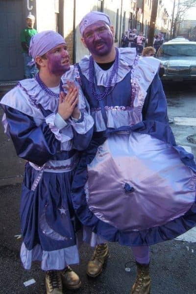 wench brigade mummers parade