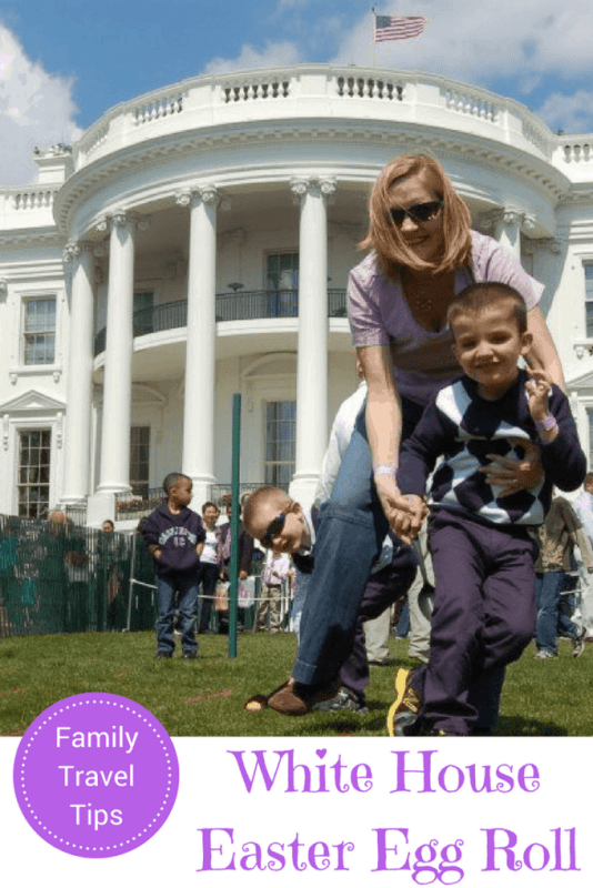 white house easter egg roll lottery family