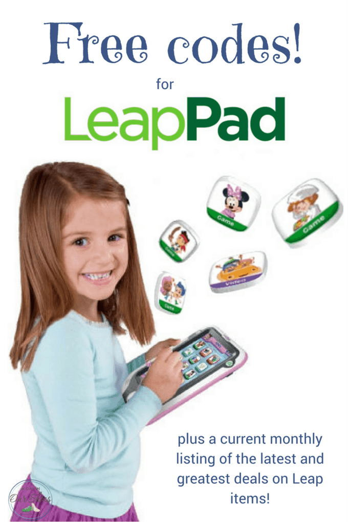 Load up your LeapPad with these free codes for LeapPad apps, especially if you are giving as a gift. Also includes the latest deals on Leap items.