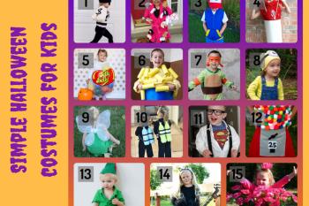 15 simple DIY Halloween costumes for kids