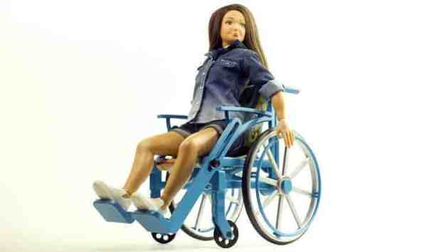 barbie wheelchair