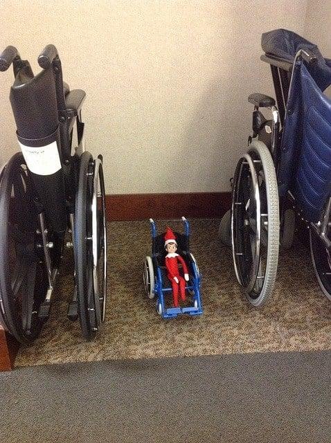 elf shelf wheelchair