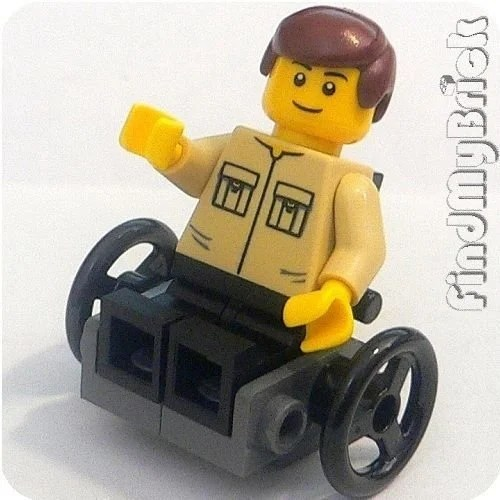 playmobil wheelchair
