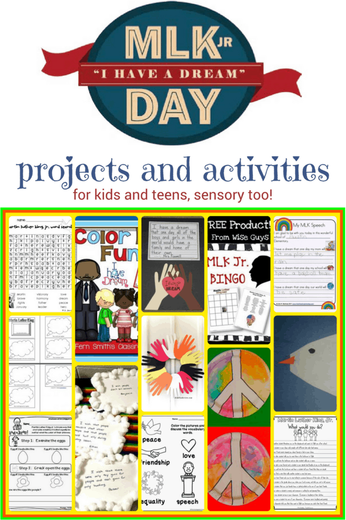 MLK Day should be fun, serious, educational and inspiring. Here are 25+ activities and projects for kids to make the day memorable, including