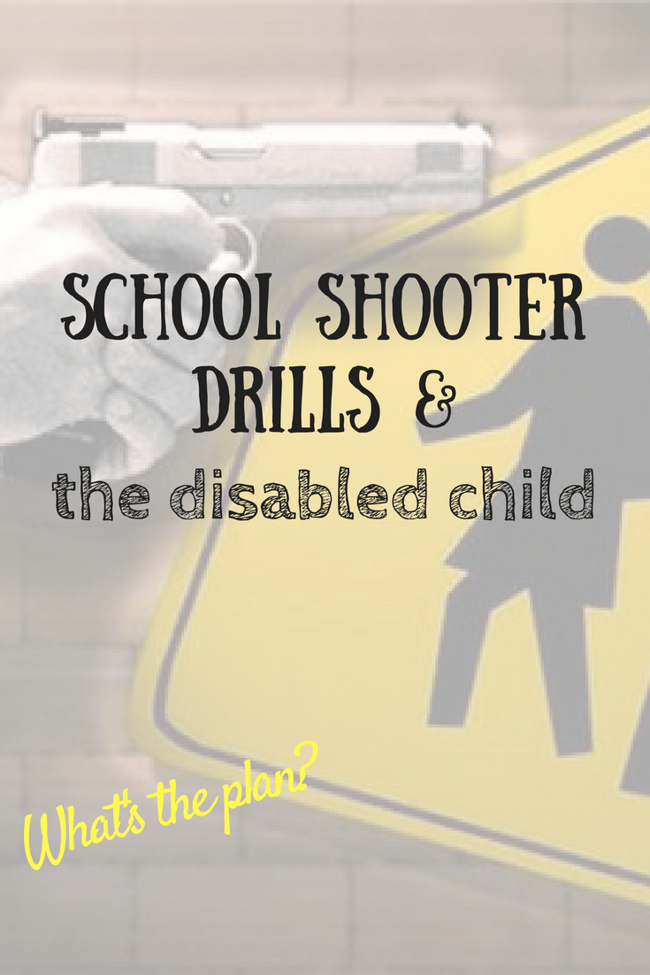 What would happen to your disabled child in a school emergency? Questions parents need to ask schools (and their politicians!). #NotOneMore #school #education #schoolisforlearning