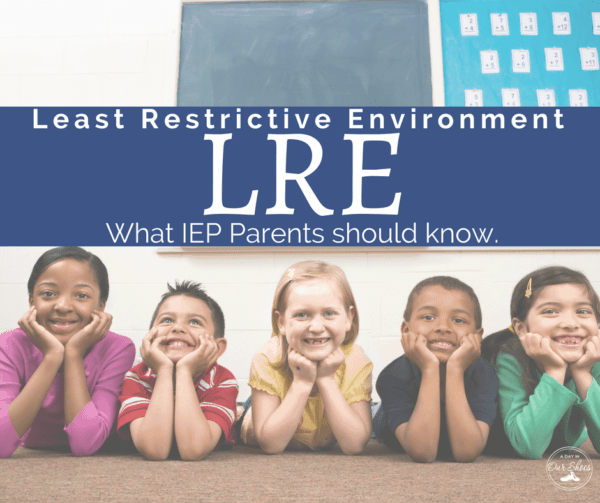 LRE least restrictive environment
