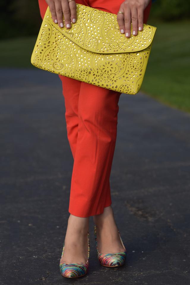 A Day In The Lalz; Summer Fashion; Modesty; Banana Republic; Prabal Gurung for Target; Haute Hijab; Color Blocking; Kendra Scott; Sloan Pant; Hijab
