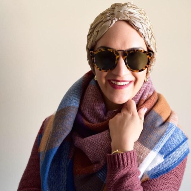 A Day In The Lalz; Fashion Blog; Fall, Fashion Blog, Karen Walker, Blanket Scarf, Turban