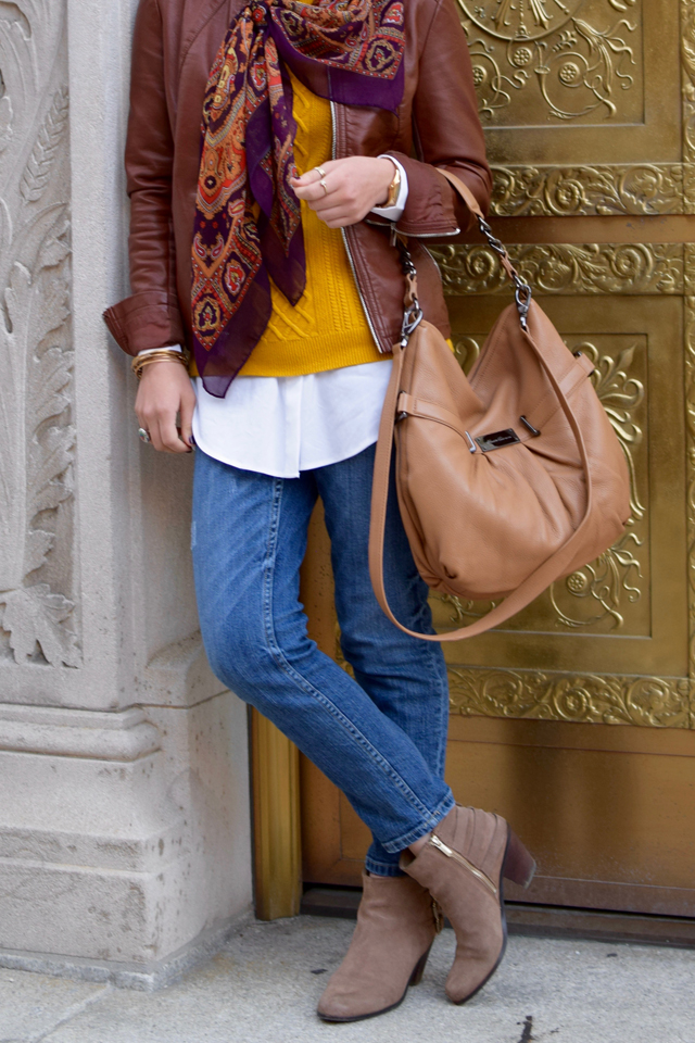A Day In The Lalz; Fashion Blogger; Modest Fashion; Fall Fashion; Downtown Look; Streetstyle Modest Fashion; Hijab; Banana Republic; Hijabi