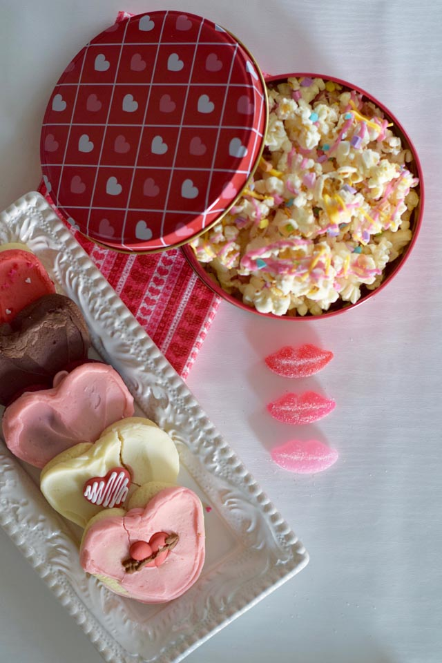 A Day In The Lalz; Valentine's Day; Sweetheart Popcorn Recipe; Valentine's Day Food Recipe