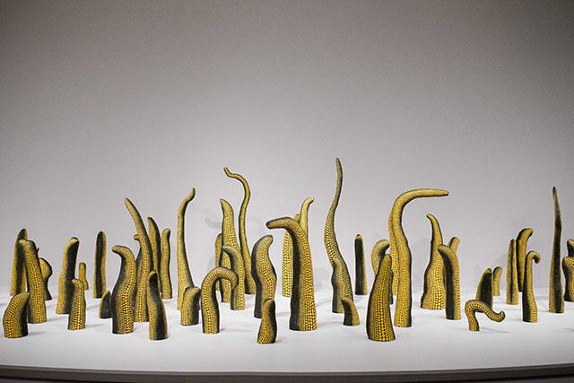 Yayoi Kunama Infinity Rooms-Hirschhorn Museum-Washington DC-Smithsonian Exhibit-Travel Blog