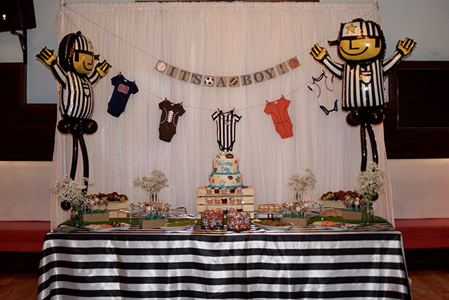 Exceptional Sports Theme Baby Shower Party Itu0027s A Boy Baby Shower