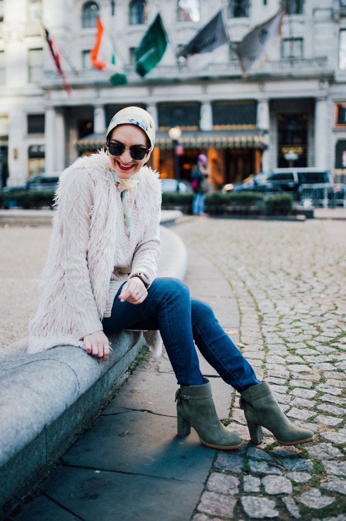 Bow Booties for Fall