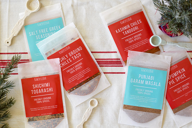 Subscription Box-Holiday Gift Guide-Raw Spice Bar
