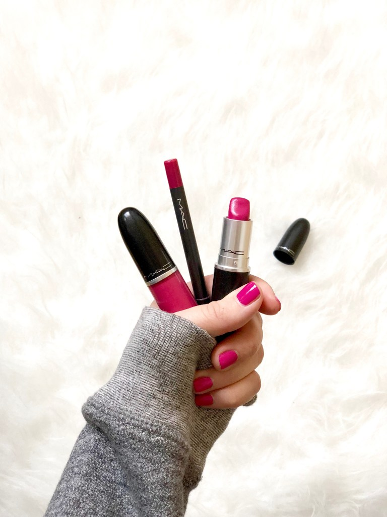 MAC-Pink-Lipstick
