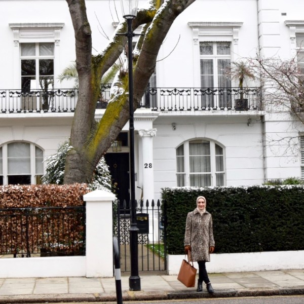London Packing Guide, Blogger Style, March in London, Leopard Coat, Travel Style
