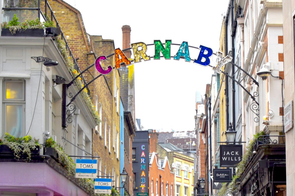 Carnaby-Travel-Blog-London-Blogger-Lalz-Travel Guide to London