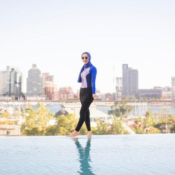 Modest Hijab Friendly Swimwear