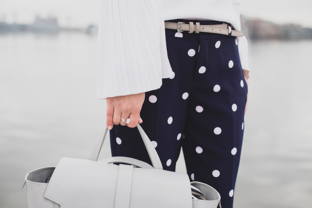bd452eb1f1e Polka Dot Work Pants - A Day In The Lalz