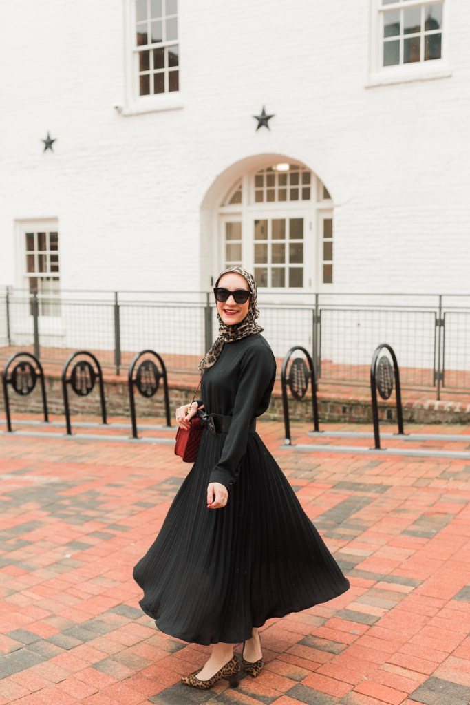 Little Black Dress-LBD-Valentine's Day Outfit-Hijab Fashion-Modest Fashion