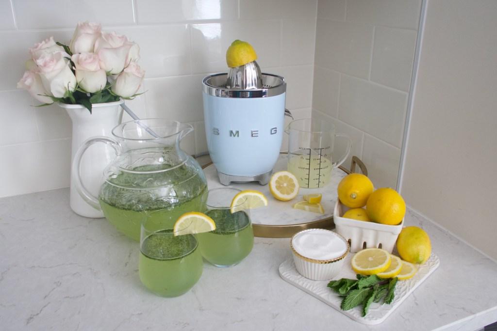 Mint Lemonade-Recipe-Summer-Drinks
