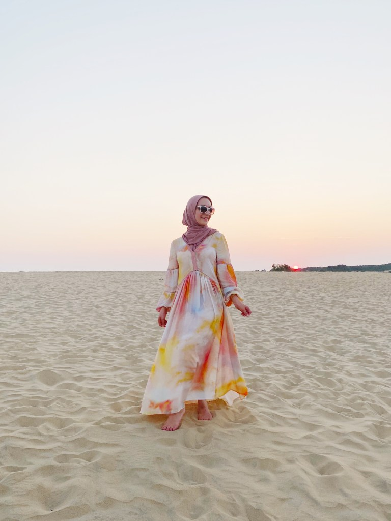 Outer Banks-Kitty Hawk-Sunset-Anthropologie Dress