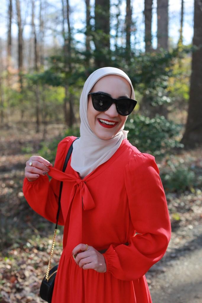 ANNE-MIDI-DRESS-Sail to Sable-Stylecharade-Modest-Fashion-Lalz-Hijab