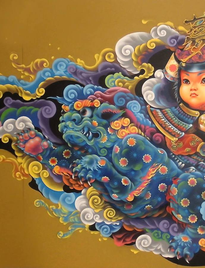 Kenta Torii – A symbiosis of modern and traditional iconography