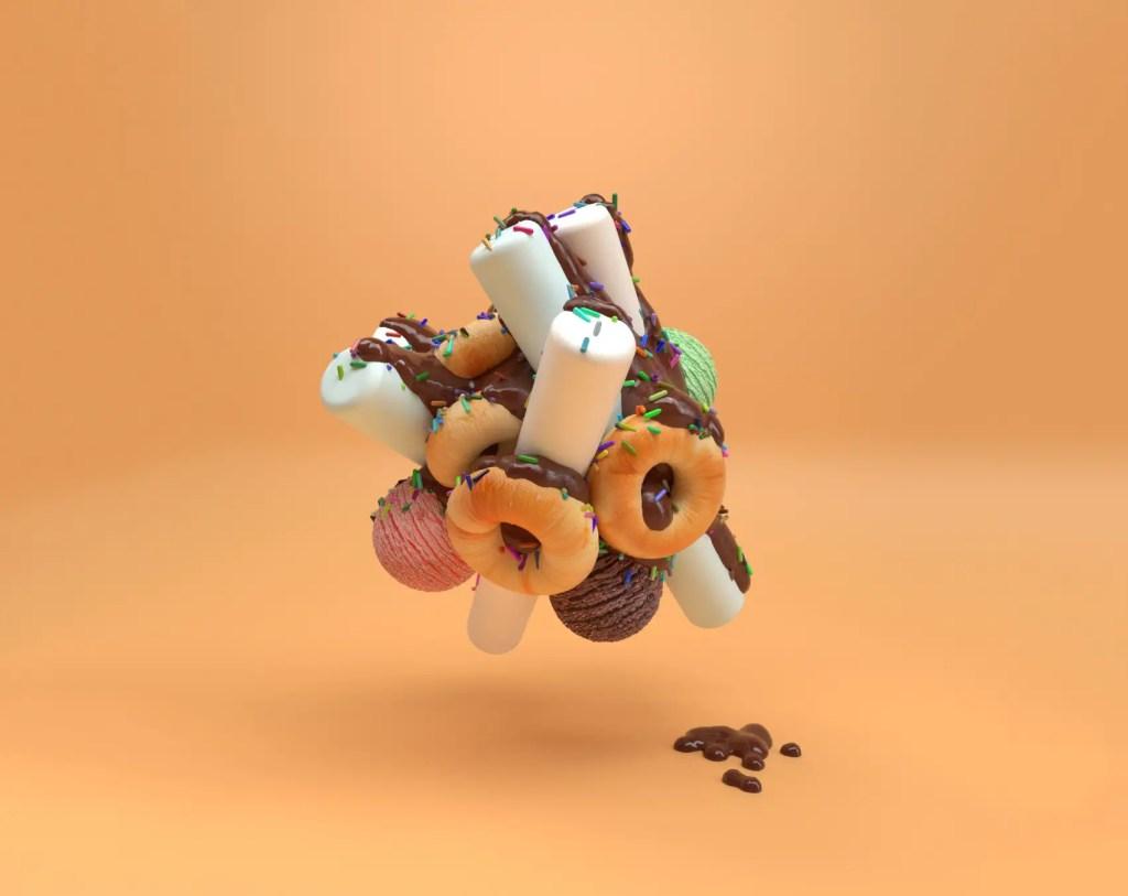 C4D Donuts
