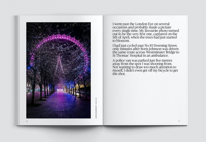 Jan Enkelmann book - pause london in lockdown