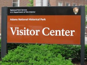Adams National Historical Park Visitor Center in Quincy, MA