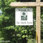 Entrance sign for Smith Farm Reserve