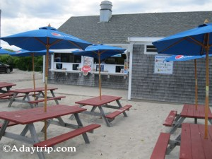 The Snack Stand at Mayflower Beach in Dennis