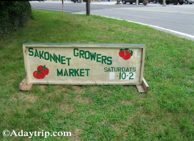 Sakonnet Growers Market in Tiverton, RI
