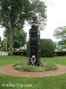 Statue commemorating Veterans