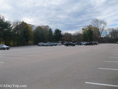 Houghton's Pond Parking Lot in Milton