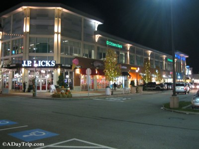 To Legacy Place in Dedham, MA for Shopping and Fine Dining
