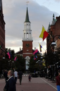 Burlington VT attractions - Shopping at the Church Street Marketplace. Source: mcdemoura on Flickr