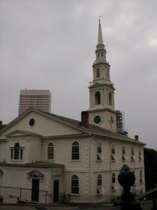 First Baptist Meeting House in Providence, RI