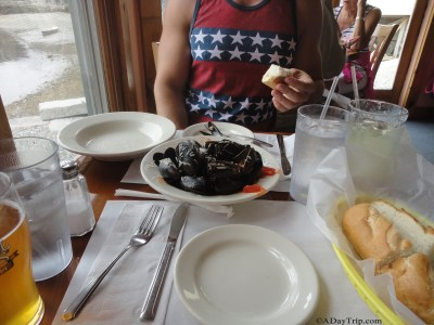 muscles appetizer in rockport ma