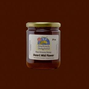 24oz Desert Wild Flower Jar