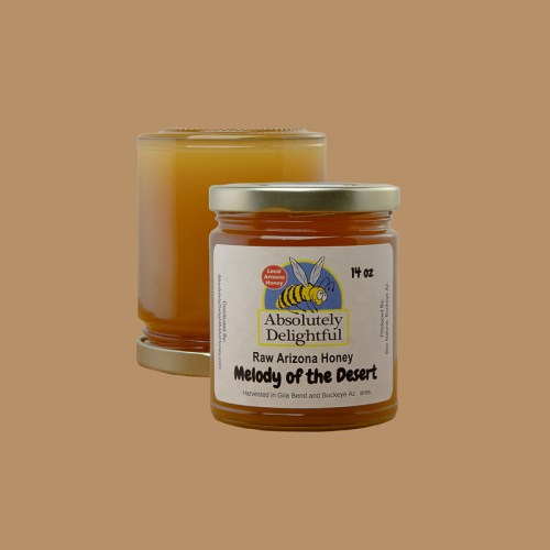 Two Floating Small Jars of 14oz Melody of the Desert