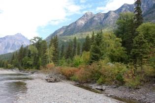 Beautiful scenery in Glacier National Park.