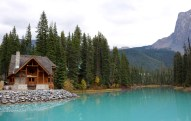 Emerald Lake in Yoho National Park, BC.