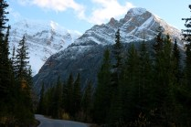 Beautiful scenery on our way to Mount Edith Cavell in Jasper National Park.