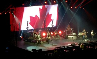 Paul Brandt concert at Rexall Place in Edmonton, Alberta.