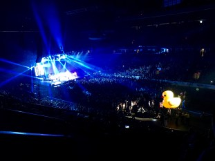 Paul Brandt (and rubber ducky) concert at Rexall Place in Edmonton, Alberta.