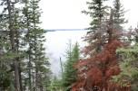 Lake Waskesiu in Prince Albert National Park, SK